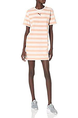 PUMA Damen Bedruckte Kleider - Damen Summer Stripes All Over Print Dress Kleid