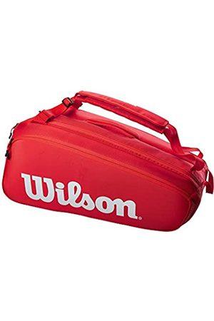 Wilson Sporting Goods Unisex-Erwachsene SUPER Tour 9PK RED Tasche