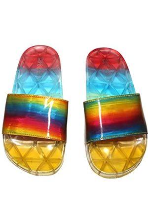 Cape Robbin Fantasize Sandalen, Slides für Damen, Pantoletten, (Regenbogenfarben)