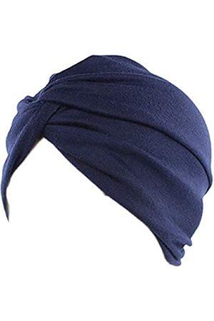 Ganves Damen Schlafmütze aus Baumwolle, vorgebunden, Indische Chemo-Mütze, Beanie