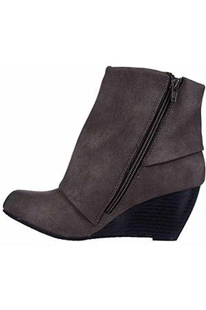 American Rag Frauen Coreene Geschlossener Zeh Fashion Stiefel Grau Groesse 9.5 US/41 EU