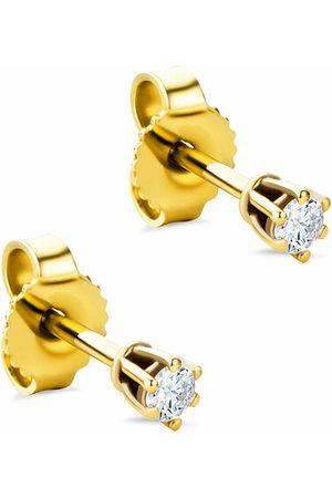 DIAMADA Ohrringe 9KT 0.12ct Diamond Earring gold