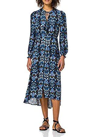 Springfield Damen Vestido Midi Estampado Étnico Kleid