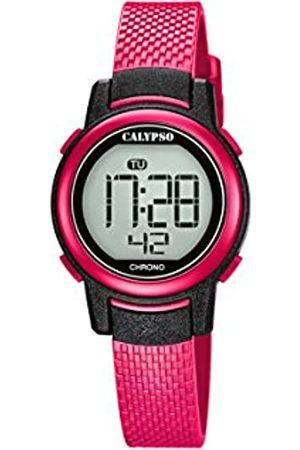 Calypso Damen Digital Quarz Uhr mit Plastik Armband K5736/5