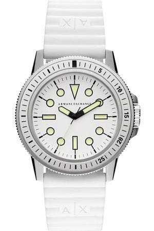Armani Exchange Herren Uhren - Leonardo AX1850 White/Silver