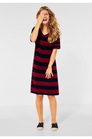 CECIL Damen Freizeitkleider - Jerseykleid mit Streifen Muster