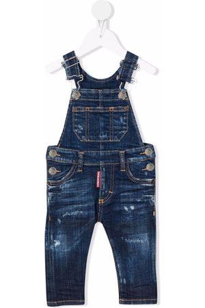 Dsquared2 Schmale Jeans-Latzhose