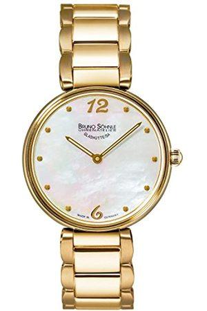 Soehnle Bruno Söhnle Damen Analog Quarz Uhr mit Edelstahl Armband 17-33185-950