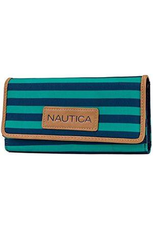 Nautica Geldbörse für Damen, mit RFID-blockierender Geldbörse, Grn (Spectra Green)