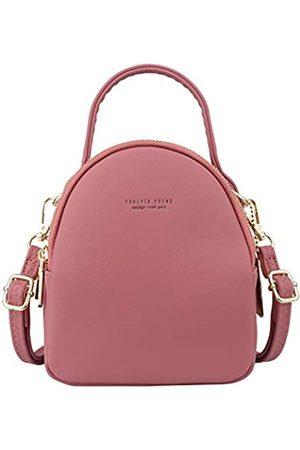 Aeeque Damen Taschen - Rucksack Damen Mini, Kleiner Rucksäcke Damen Elegant,[Aktualisierung 2 Schulterriemen] Handtasche Klein Umhängetasche PU-Leder für Mädchen Frauen