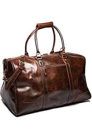 HIDES Reisetasche aus genarbtem Leder, 53