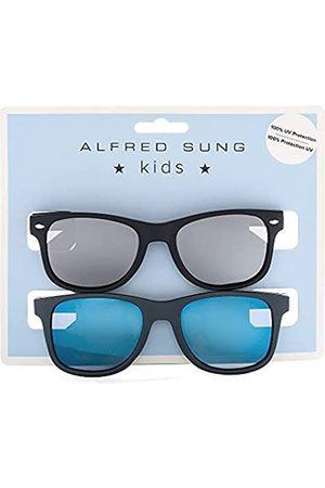 Alfred Sung Jungen Sonnenbrillen - Kinder-Sonnenbrille, 2 Stück, UV-Schutz 400, ( / )