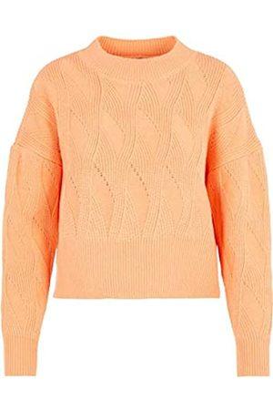 YAS Damen GISELLA LS Knit FT Kurzer Pullover