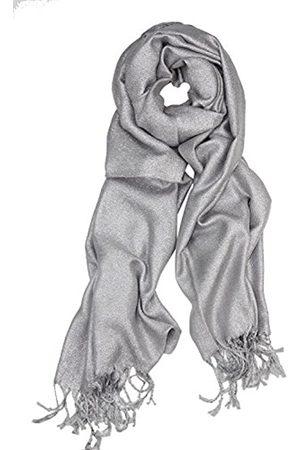 Achillea Glitzernder metallischer Pashmina-Schal für Hochzeit