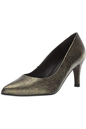 Andre Assous Damen Onassis Pumpe, Grn (Moss Crackled Leather)