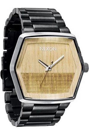 Nixon Herren-Armbanduhr Analog Edelstahl A018630-00