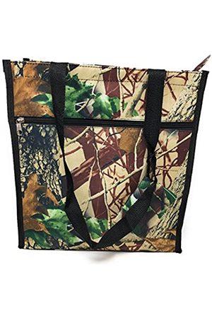 Nickanny's Mittelgroße Mikrofaser-Taschen mit Taschen und Reißverschlüssen, 30,5 cm (12 Zoll) großes Gepäck