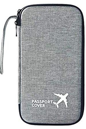 liboer Reisepass-Hülle, harte EVA-Schutzhülle für Reisen, hohe Kapazität, Ausweis, Bargeld, Flugticket, Dokument