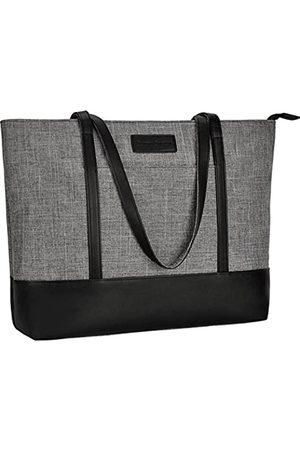 Sunny Snowy Laptop-Tragetasche, passend für 15,6–17 Zoll Laptops, Damen, leicht, wasserabweisend, Nylon