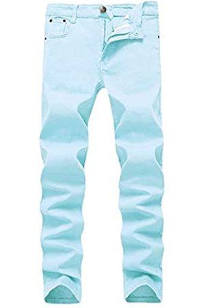 WULFUL Herren Jeans Skinny Slim Fit Stretch Comfy Fashion Denim Pants - - 30W / 31L