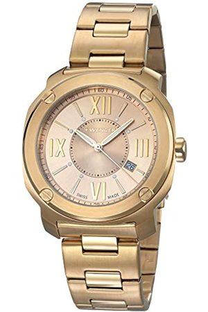 Wenger Unisex-Armbanduhr Analog Quarz Edelstahl EDGE ROMANS NO: 01.1141.121