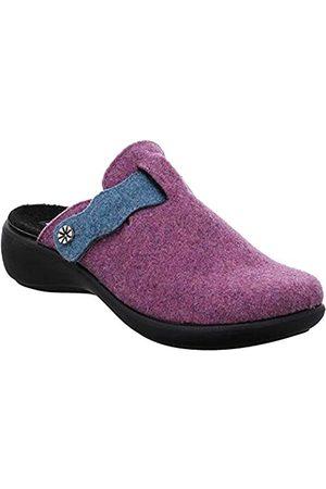 Romika Damen Ibiza Home 336 Pantoffeln, (Viola-Kombi 581 581)
