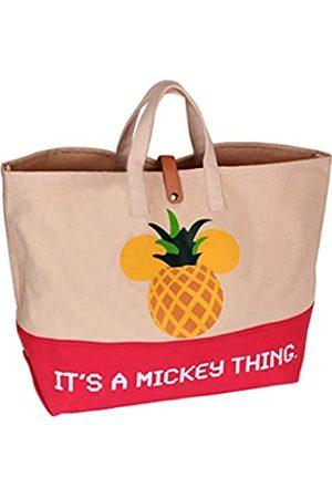 Generic Lyla Raine Kompatibel mit Baumwolle Canvas Tasche Disney Mickey Mouse Frauen Übergroße Reisetasche