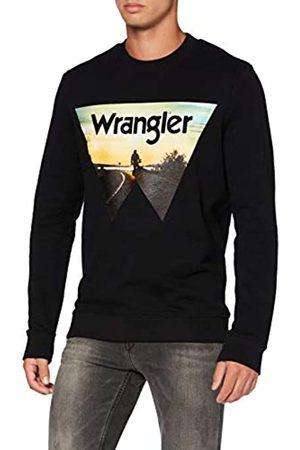 Wrangler Mens Explorer Sweater, Black