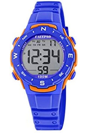 Calypso Unisex Digital Quarz Uhr mit Plastik Armband K5801/3