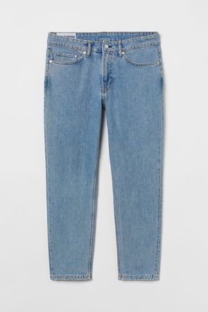 H&M Regular Tapered Cropped Jeans