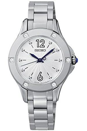 Seiko Damen-Armbanduhr Analog Quarz Edelstahl SRZ421P1