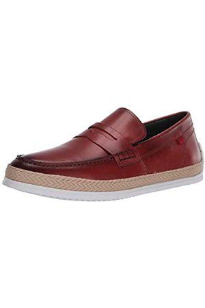 Marc Joseph New York Herren Leder-Schuhe mit Penny-Seil Detail Boot, Braun (Rostnappa)