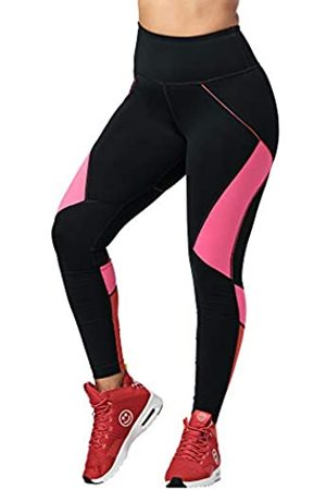 Zumba Fitness Zumba Workout High Waist Leggings Stilvoll Fitness Gym Kompression Sporthose Damen