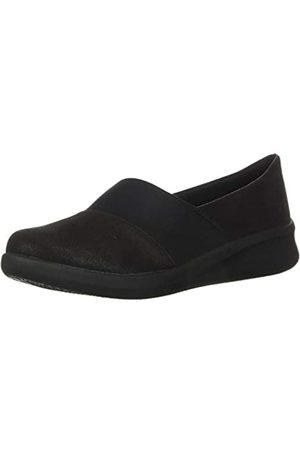 Clarks Damen Halbschuhe - Women's Sillian 2.0 Moon Loafer, Black Synthetic