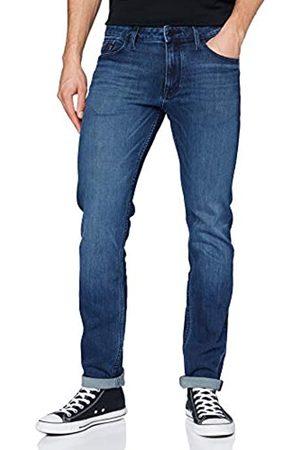 Calvin Klein Herren Slim Straight-Diamond Blue Dark Lssige Hose