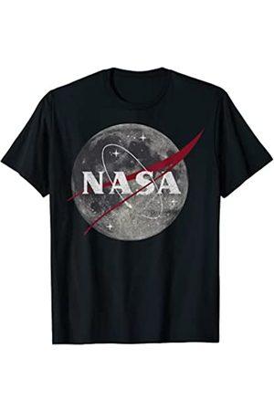 Nasa Moon Space Logo Graphic T-Shirt