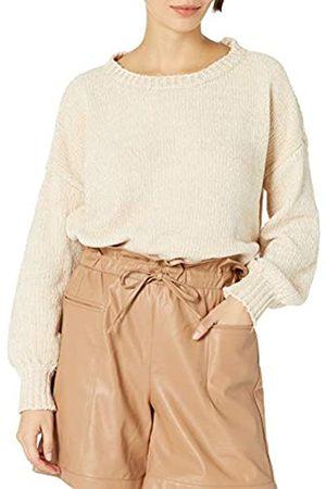 KENDALL + KYLIE Damen Pullover mit Rundhalsausschnitt und Ballonärmeln- Amazon Exklusiv