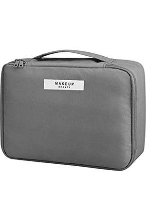 OTAONE Reise-Make-up-Tasche, Pinsel-Boxen mit Make-up-Tasche, Organisator-Etui, transparent, einfarbig, Kosmetik-Organizer, Aufbewahrungstaschen, Zubehör für Frauen, Reise