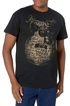 Johnny Cash Unisex-Erwachsene Songs T-Shirt