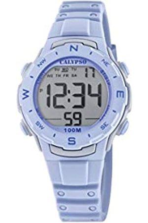 Calypso Unisex Digital Quarz Uhr mit Plastik Armband K5801/2