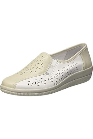 Comfortabel Damen 941820 Slipper, (Platin/ )