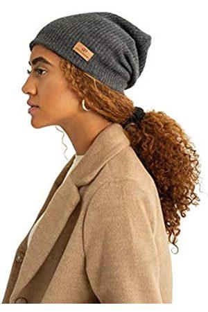 Grace Eleyae GE I Verstellbare Wintermütze mit Satin-Innenfutter aus Wolle, seidig