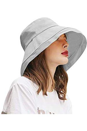 CACUSS Sonnenhut für Damen, breite Krempe, verstaubar, LSF 50+, UV-Schutz, faltbar, zum Aufrollen, für Sommer