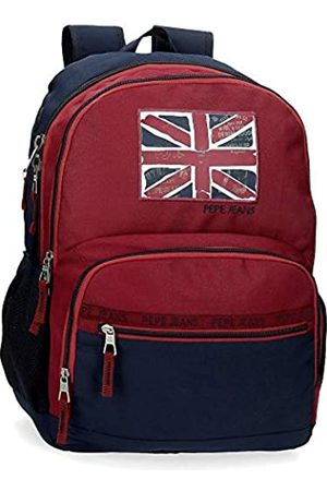 Pepe Jeans Andy Doppelfach-Rucksack 33x46x17 cms Polyester 25.81L