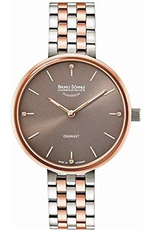 Soehnle Bruno Söhnle Damen Analog Quarz Uhr mit Edelstahl Armband 17-63157-892