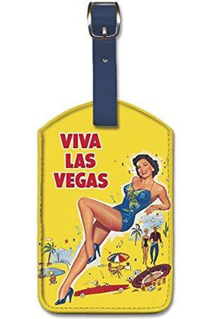 Pacifica Island Art Gepäckanhänger aus Kunstleder – Viva Las Vegas