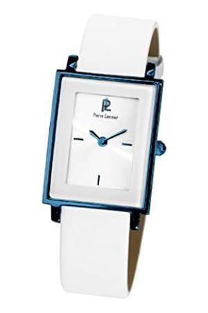 Pierre Lannier 132 G800 Damen-Armbanduhr – Quarz Analog – Weißes Ziffernblatt – Armband Leder