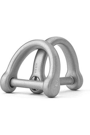 TISUR D-Ringe mit Schraubbügel, Hufeisen, U-Form, Schlüsselanhänger, DIY, Leder, Handwerk, Geldbörse