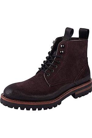 Jeder S 2020 Neue Herren Stiefel Echtes Leder Lace Up Military Boots Herren Winter Knöchel Leichte Schuhe für Männer Herbst Winter Casual