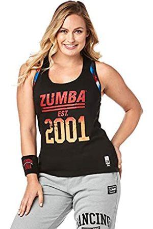 Zumba Fitness Zumba Dance Fitness Schwarzes Tank Top Atmungsaktive Workout Racerback Sportkleidung Damen